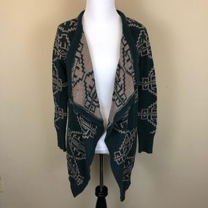 Urban Outfitters Reversible Intarsia Knit Cardigan